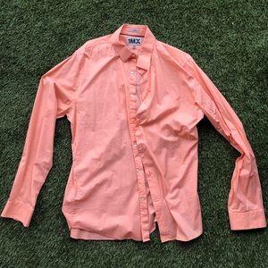 Salmon express dress shirt